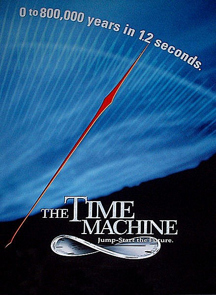 Time Machine, The - Poster - Teaser