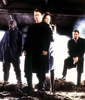 Ukážka z filmu, Cale, Spencer, Maya a Hathaway