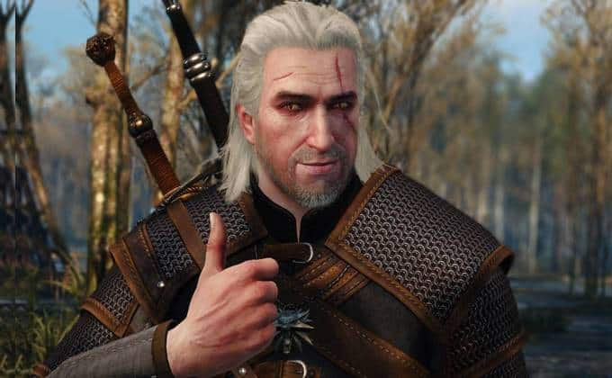 Witcher thumbs up