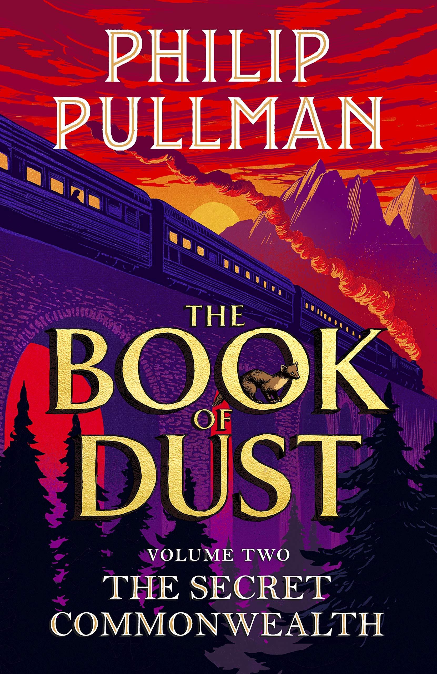 The Book of Dust: The Secret Commonwealth. Prvá titulka originálneho anglického vydania (2019)
