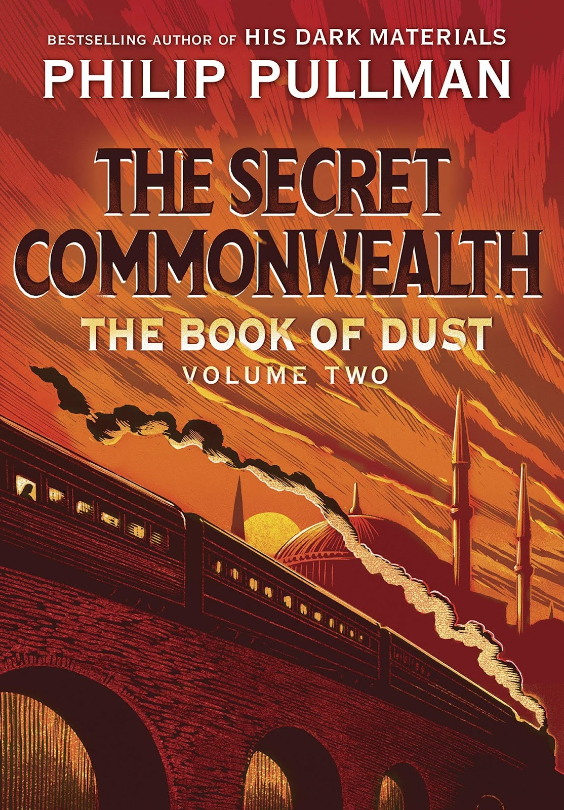 The Book of Dust 2: The Secret Commonwealth. Alternatívna titulka anglického vydania (2019).