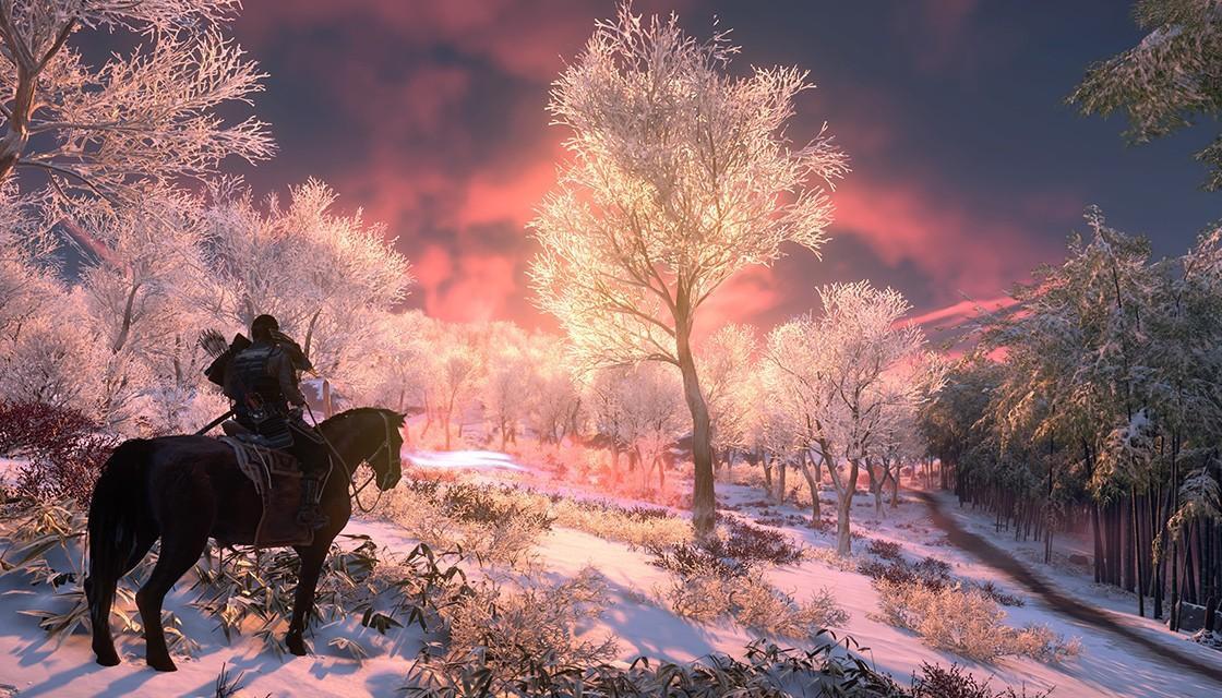 Západ slnka v hre GOT