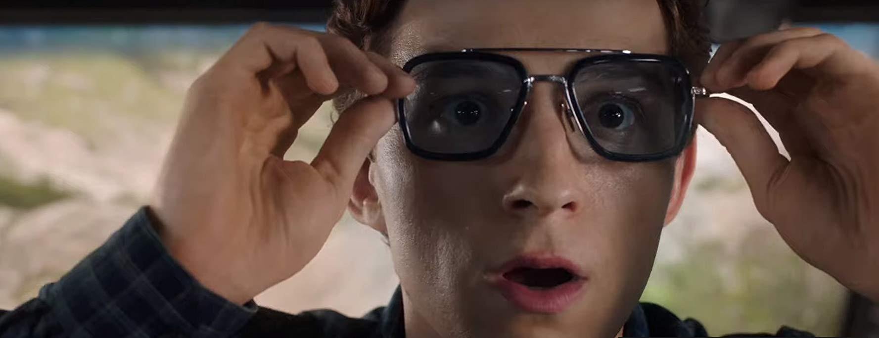 Peter Parker a jeho okuliare