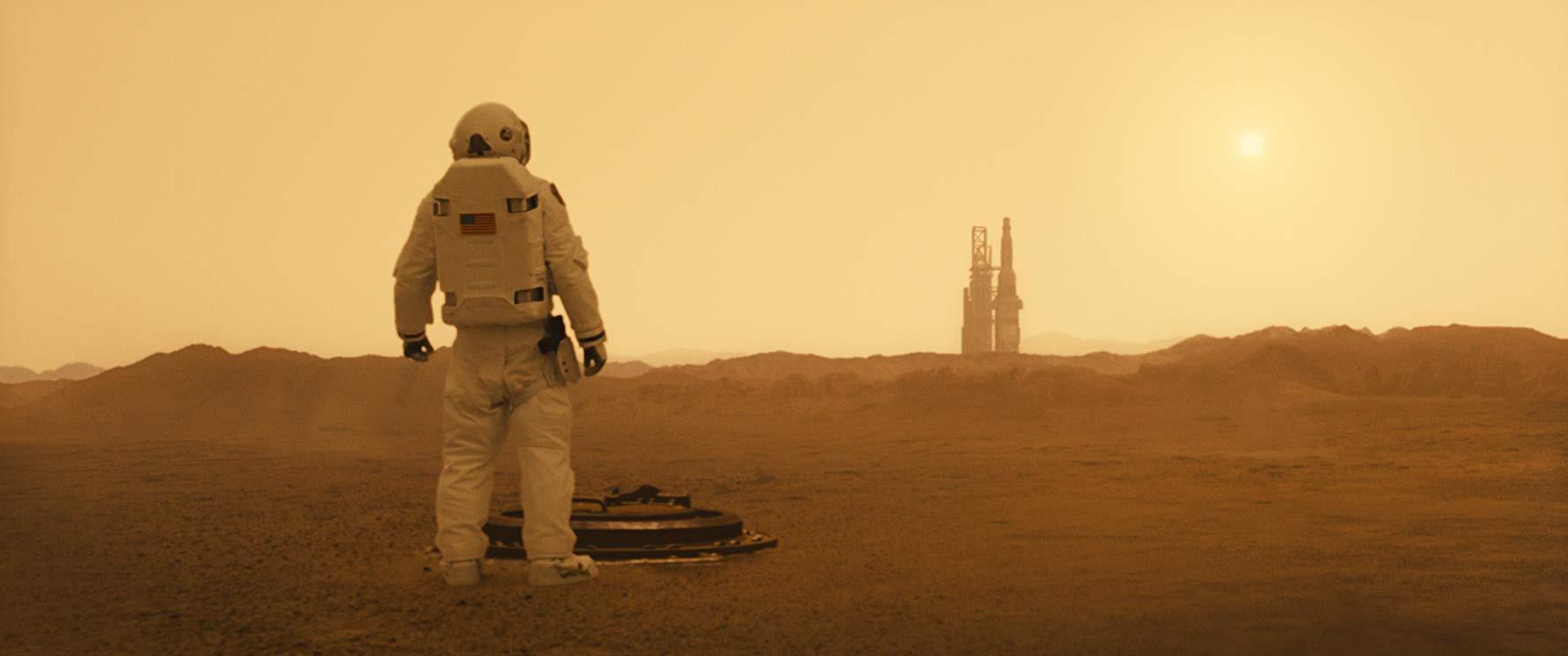 Brad Pitt na Marse
