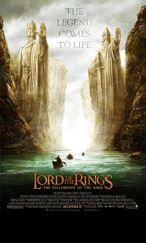 Lord of the Rings: The Fellowship of the Ring, The - Teaser Poster (Rieka)