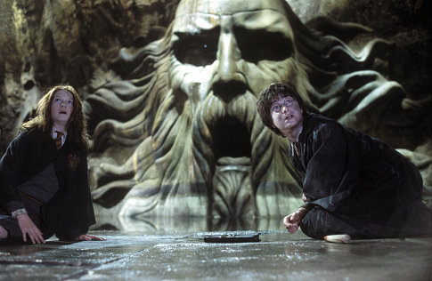 Harry a Ginny v Tajomnej komnate