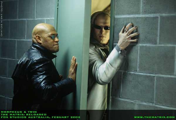 Matrix Reloaded - Morpheus a dvojička