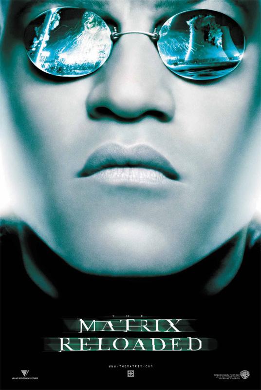Matrix Reloaded - Intl Poster - Morpheus