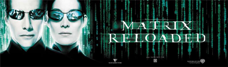 Matrix Reloaded - Intl Poster - Neo a Trinity 2