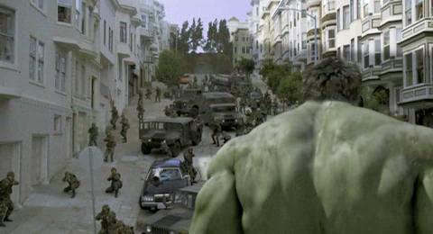 Hulk, The - Hulk a vojaci