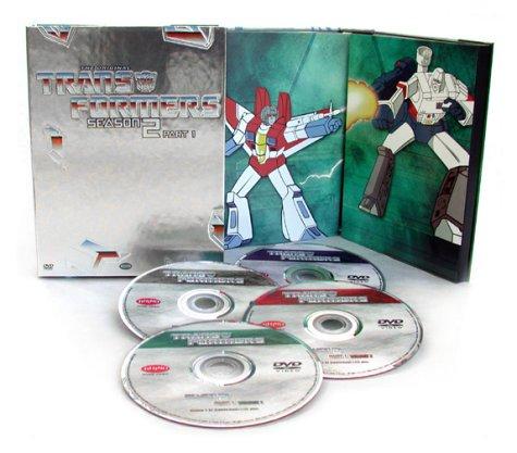 Transformers - DVD - 2. séria