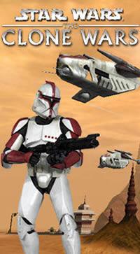 Star Wars: Clone Wars - obal z hry