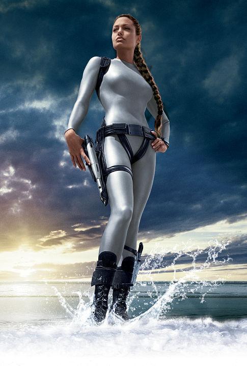 Lara Croft Tomb Raider: The Cradle of Life - Poster art
