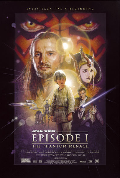 Star Wars: Episode I - The Phantom Menace - Poster