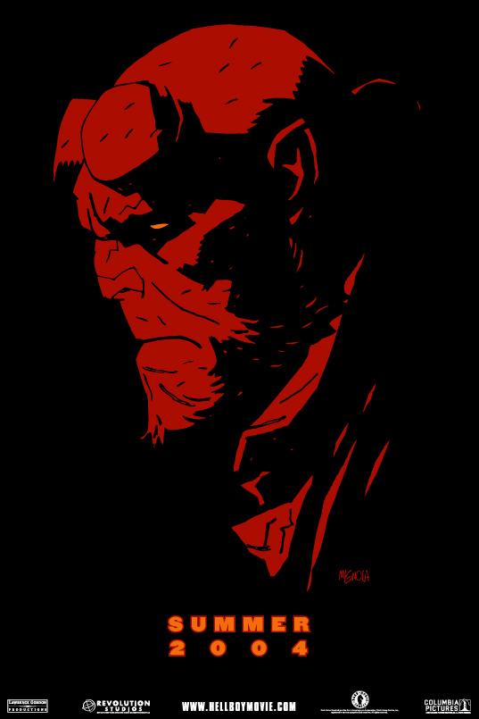 Hellboy - Poster - Teaser