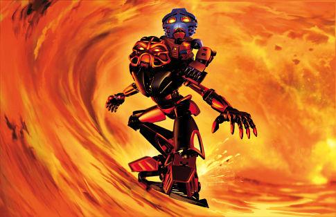 Bionicle: Mask of Light - Toa Tahu a Takua