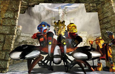 Bionicle: Mask of Light - Jaller a Takua odchádzajú na cesty