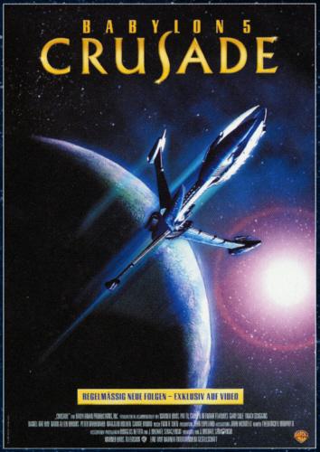 Crusade - Poster - VHS - German