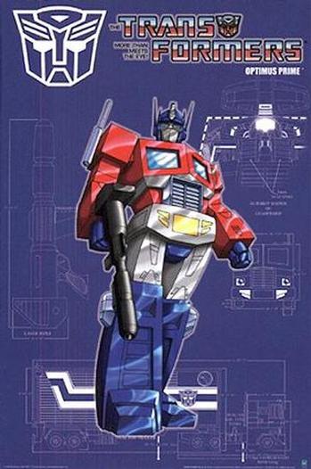 Transformers - Poster - Optimus Prime