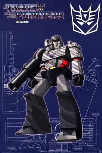 Transformers - Poster - Megatron