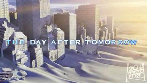 Day After Tomorrow, The - doba ľadová a logo