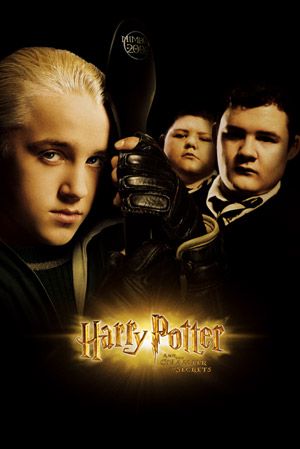 Harry Potter and the Chamber of Secrets - Poster - Teaser - Draco, Vincent a Gregory