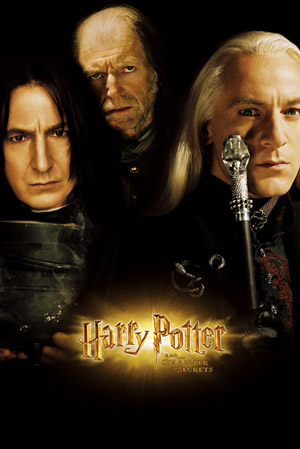 Harry Potter and the Chamber of Secrets - Poster - Teaser - Snape, Filch a Malfoy