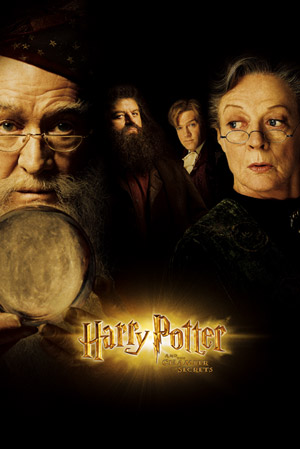 Harry Potter and the Chamber of Secrets - Poster - Teaser - Dumbledore, McGonagall, Hagrid a Lockhart