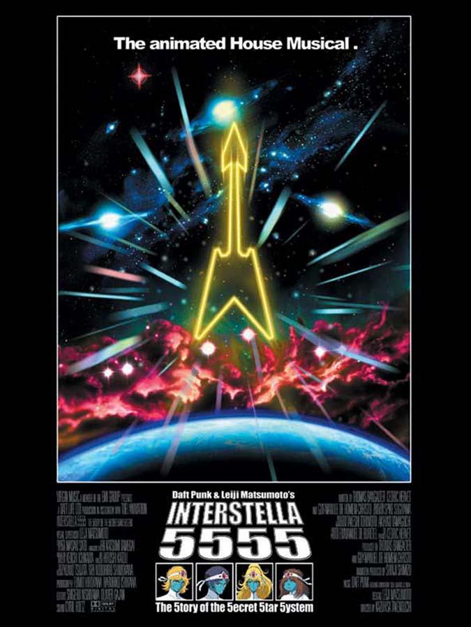 Interstella 5555 - Poster