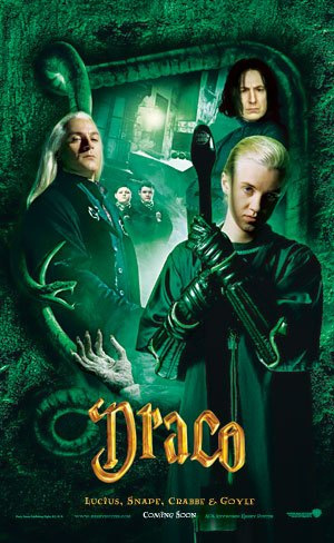 Harry Potter and the Chamber of Secrets - Poster - Draco