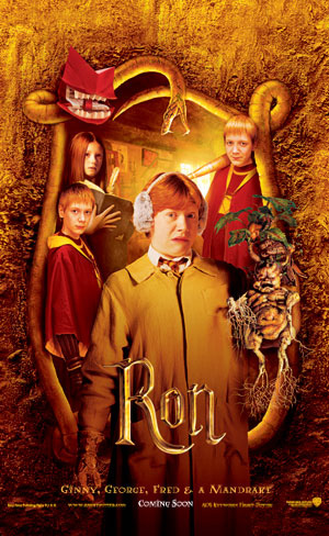 Harry Potter and the Chamber of Secrets - Poster - Ron