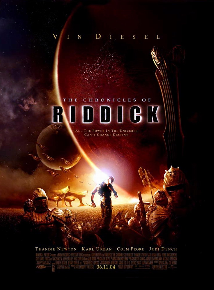 Chronicles of Riddick, The - Poster