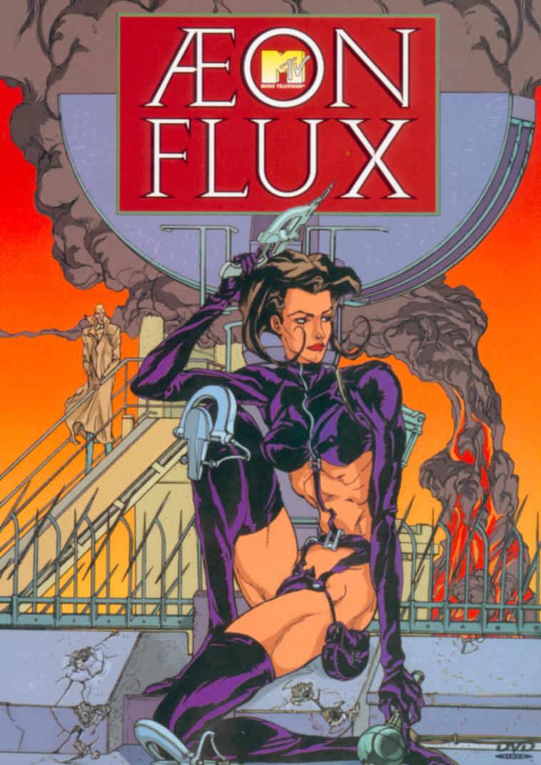 Aeon Flux - Obal komiksu