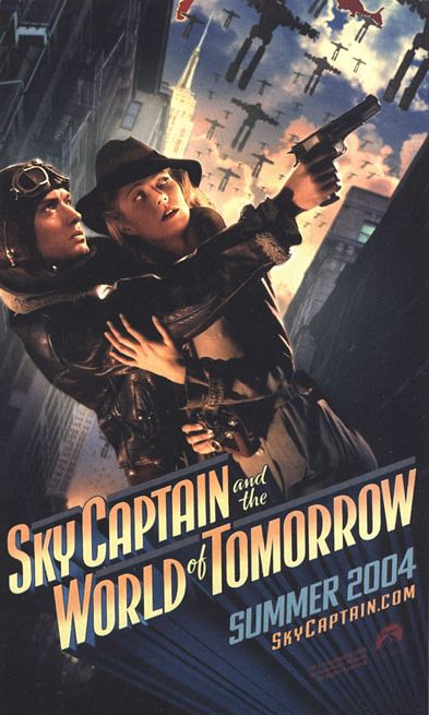 Sky Captain and the World of Tomorrow - Poster 4