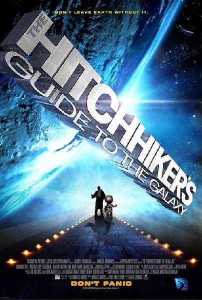 Hitchhiker's Guide to the Galaxy - Poster - 2