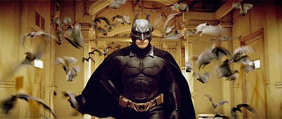 Batman Begins - Batman a netopiere