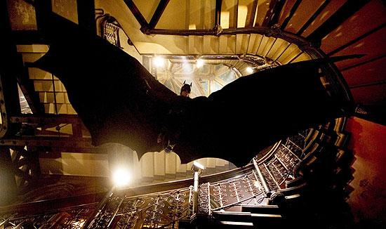 Batman Begins - Batman skáče