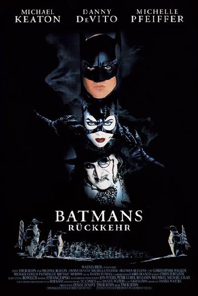 Batman Returns - Poster - 1 - Nemecký