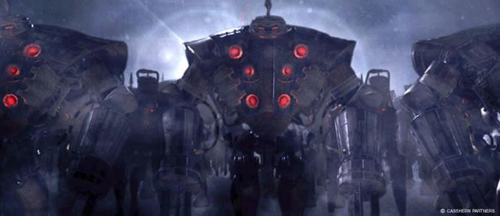 Casshern - Roboti