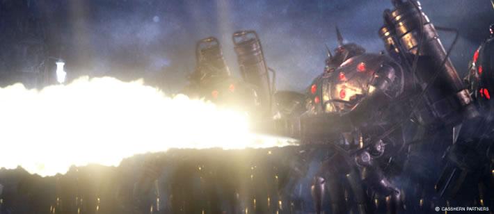 Casshern - Robot s plameňometom