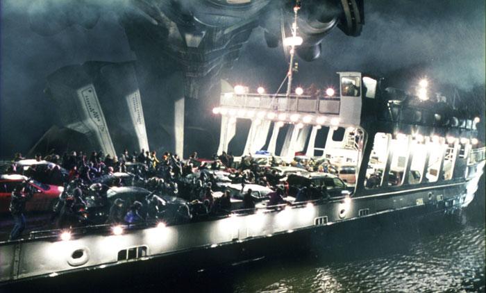 War of the Worlds - Marťania útočia na loď