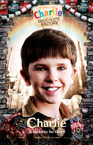 Charlie and the Chocolate Factory - Poster - Charlie
