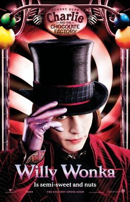 Charlie and the Chocolate Factory - Poster - Willy Wonka