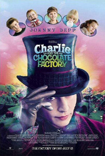 Charlie and the Chocolate Factory - Poster - 2