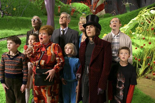Charlie and the Chocolate Factory - Na prehliadke továrne
