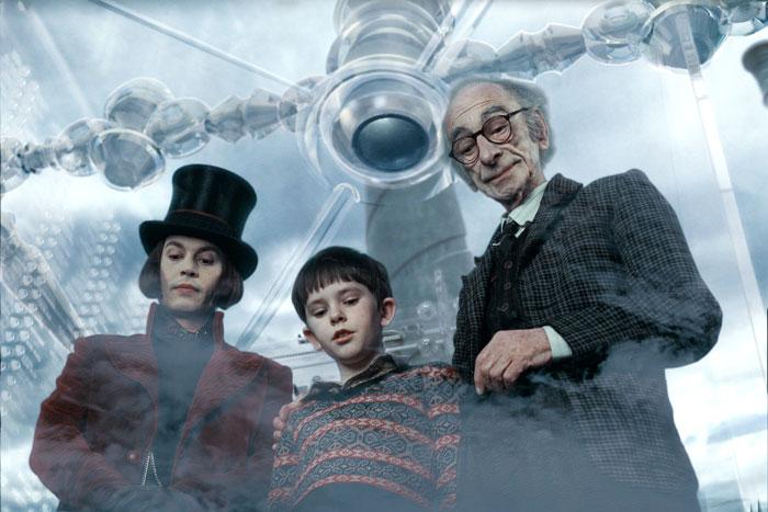 Charlie and the Chocolate Factory - Vo výťahu
