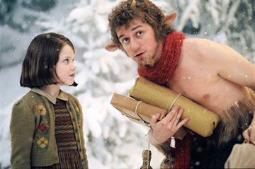 Chronicles of Narnia, The: The Lion, the Witch and the Wardrobe - Lucy a pán Tumnus