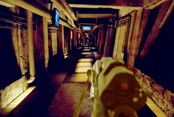 Doom - FPS perspektíva - Chodba
