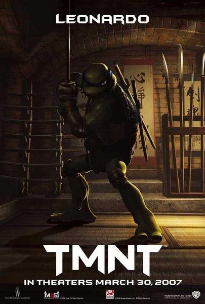 Teenage Mutant Ninja Turtles - Poster - Leonardo