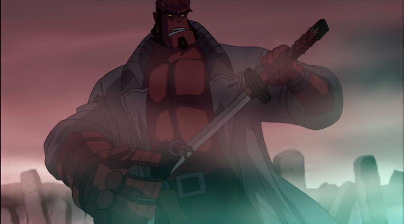 Hellboy: Sword of Storms - Hellboy s katanou